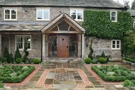 Image result for formal garden front of the house