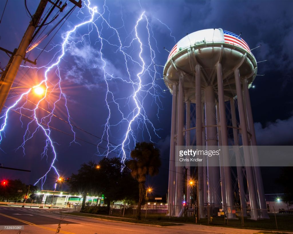 stock photo spectacular lightning bolt with simultaneous branches