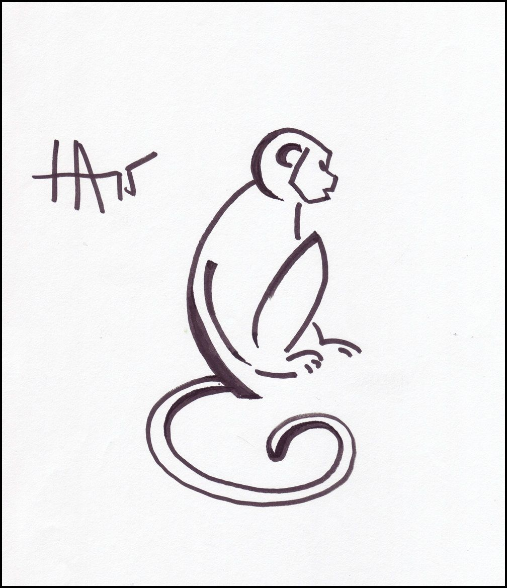 Image Result For Monkey Drawing