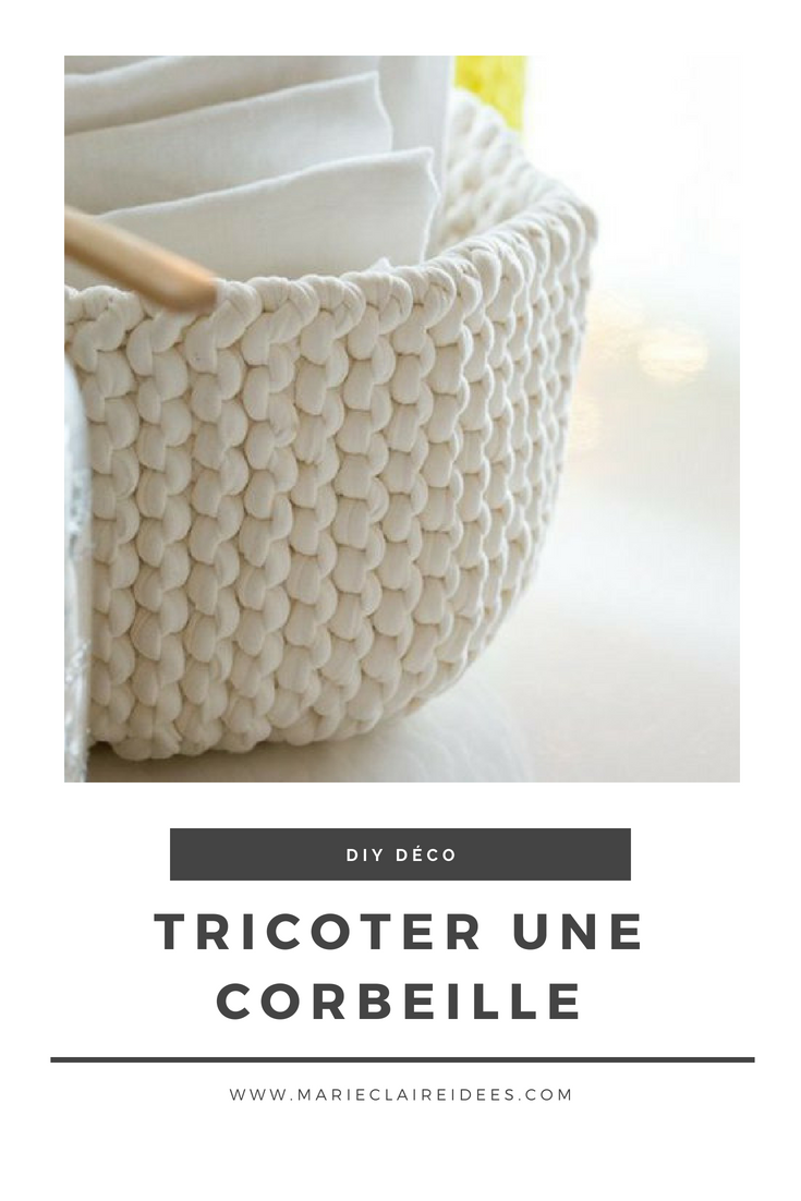Tutoriel Pour Tricoter Une Corbeille Facilement Tricot Et Crochet Tricot Crochet Patron