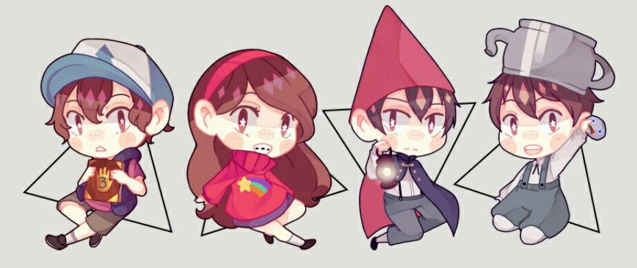 Gravity Falls X Over the garden Wall