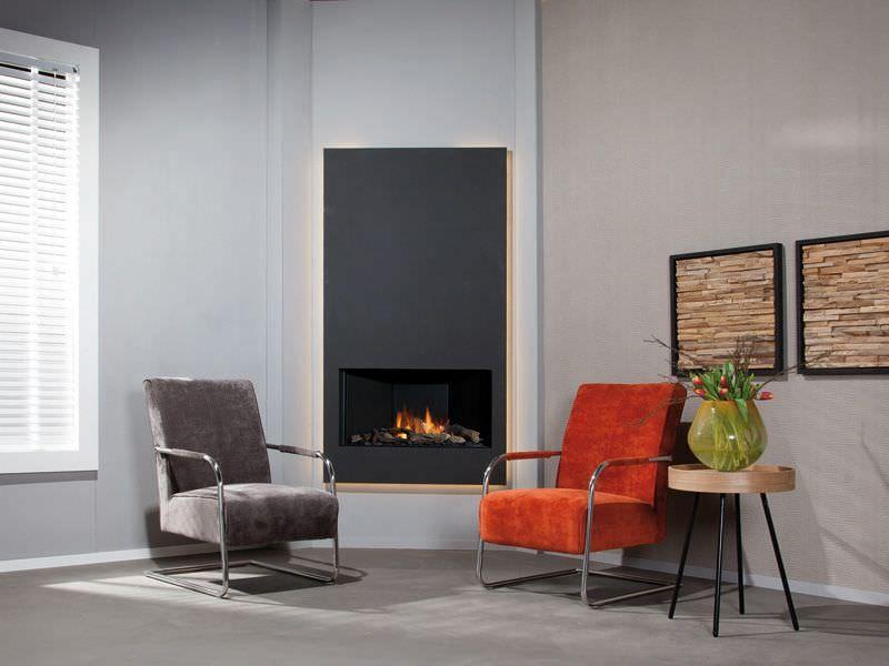 chemin e d 39 angle salon et chemin e pinterest. Black Bedroom Furniture Sets. Home Design Ideas