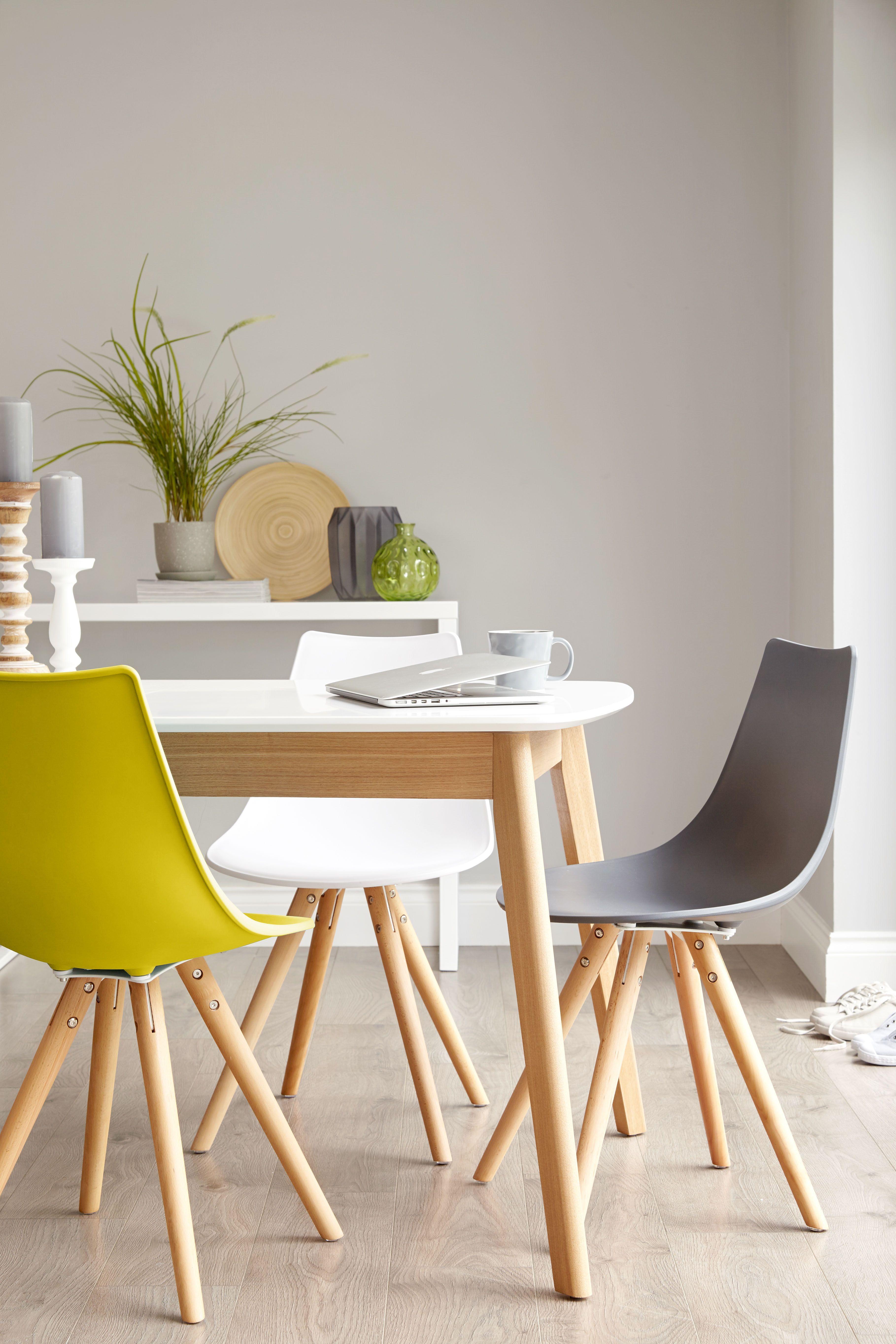 Aver White And Oak Extending Dining Table Diyfurnitureupcycle
