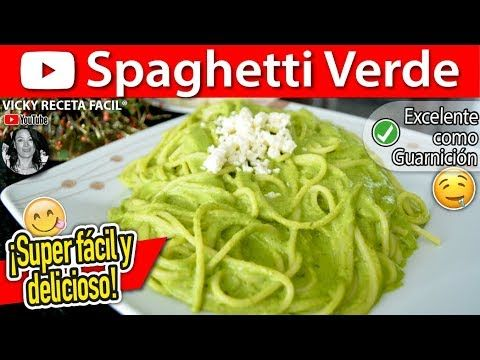 Cmo hacer spaghetti verde vicky receta facil youtube cocina cmo hacer spaghetti verde vicky receta facil youtube cocina pinterest mexican food recipes pasta and mexican recipes forumfinder Images