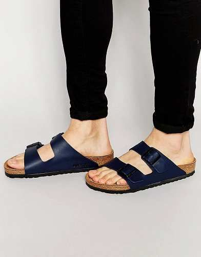 huge discount acef0 b55a8 Prezzi e Sconti: #Birkenstock arizona sandali blu taglia Eu ...
