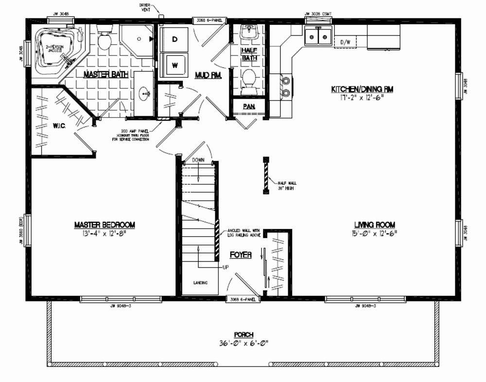Fresh 20 X 40 One Bedroom House Plans House Plan One Bedroom House Plans One Bedroom House House Plans