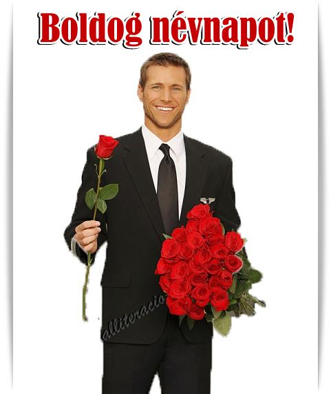 pasis névnapi képek névnap, képeslap, pasi, rózsa, csokor, férfi, rózsával  pasis névnapi képek