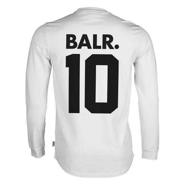 Long Sleeved Shirt BALR. 10 White - BALR.