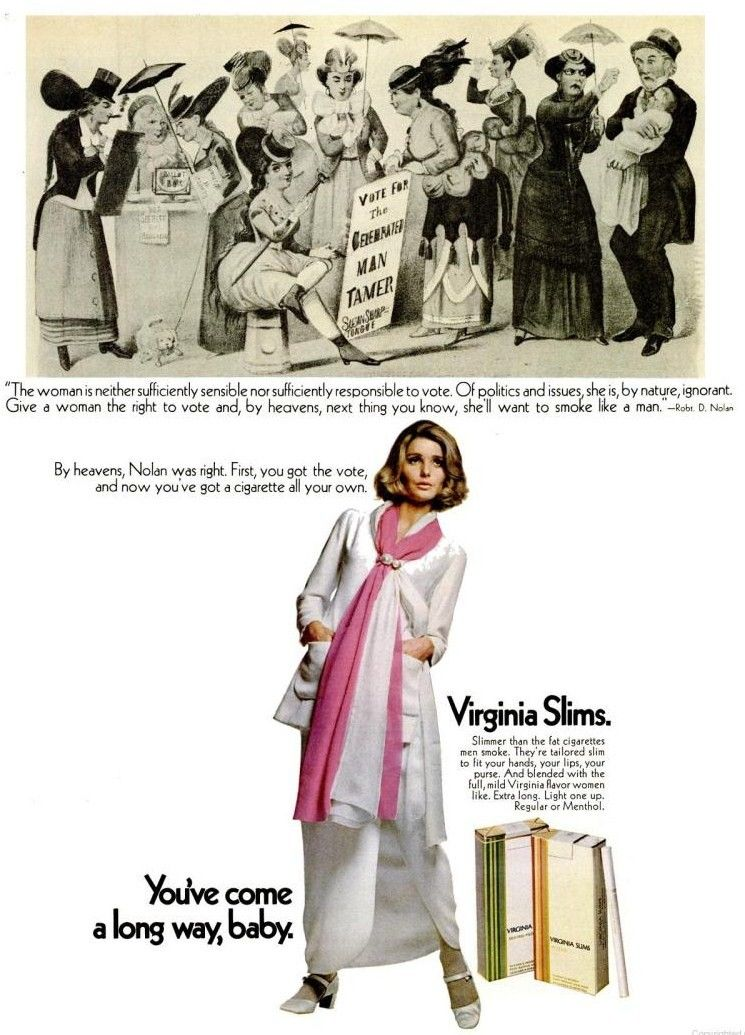 Pin On Virginia Slims Ads