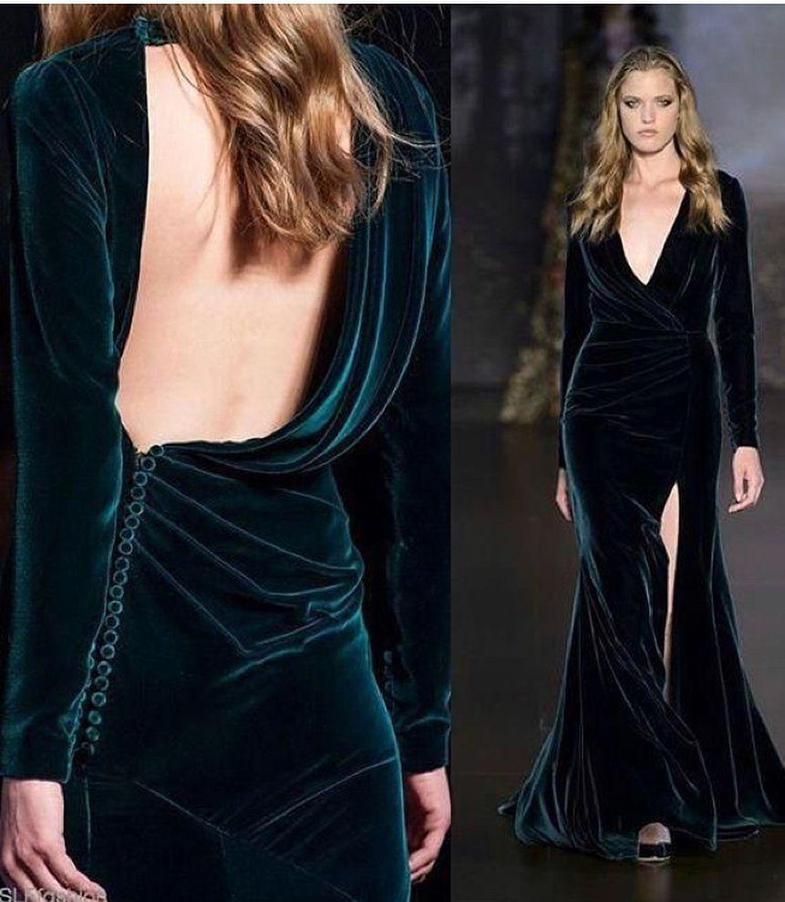 This green velvet dress is so gorgeous you like velvet nb