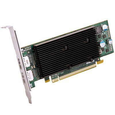 Matrox M9128 E1024laf 1gb Pci Express X16 Low Profile Dual Head Display Port Workstation Video Card By Matrox 233 49 D Graphic Card Output Device Video Card
