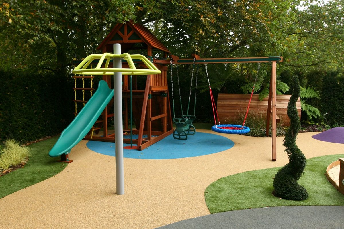 Merveilleux Varied And Attractive Childrensu0027 Play Area Garden Design. | House: Patio |  Pinterest | Play Areas, Plays And Gardens