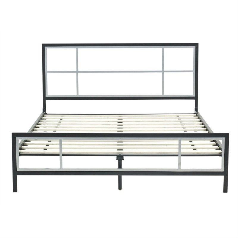 Design Ideas Metal Bed Frames Queen With Gorgeous Designs | Queen ...