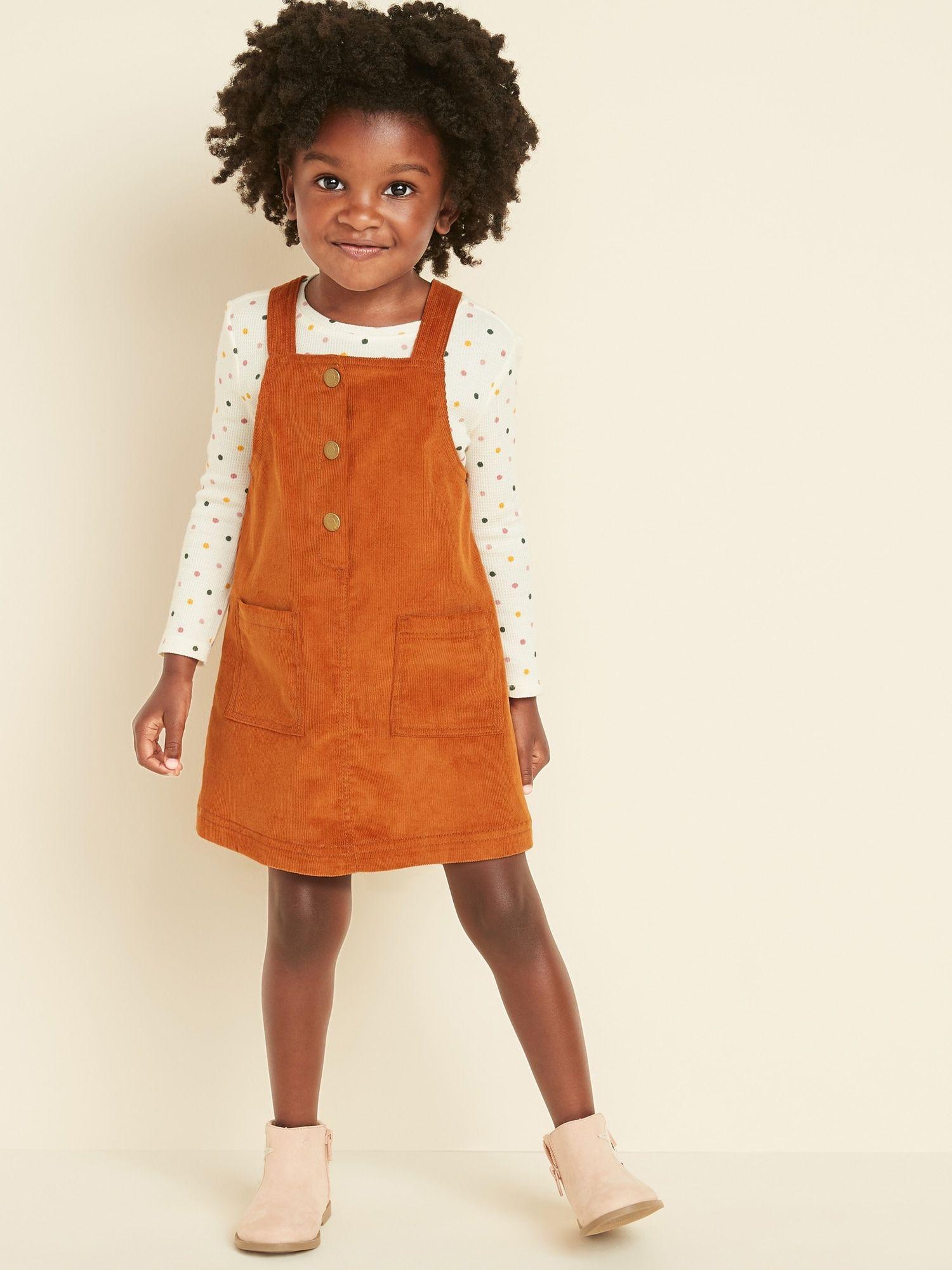Corduroy Skirtall for Toddler Girls | Old Navy | Toddler ...