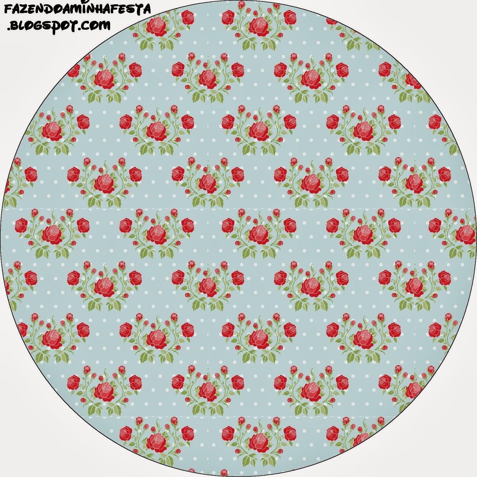 Favori Rosas rojas en fondo celeste: Etiquetas para Candy Bar, para  PW42