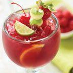 Berry Sangria - Fresh fruit, Sutter Home Cabernet wine, DeKuyper Razzmatazz liquor, orange & cranberry juices and fresh squeezed orange and lime. Mmmm!