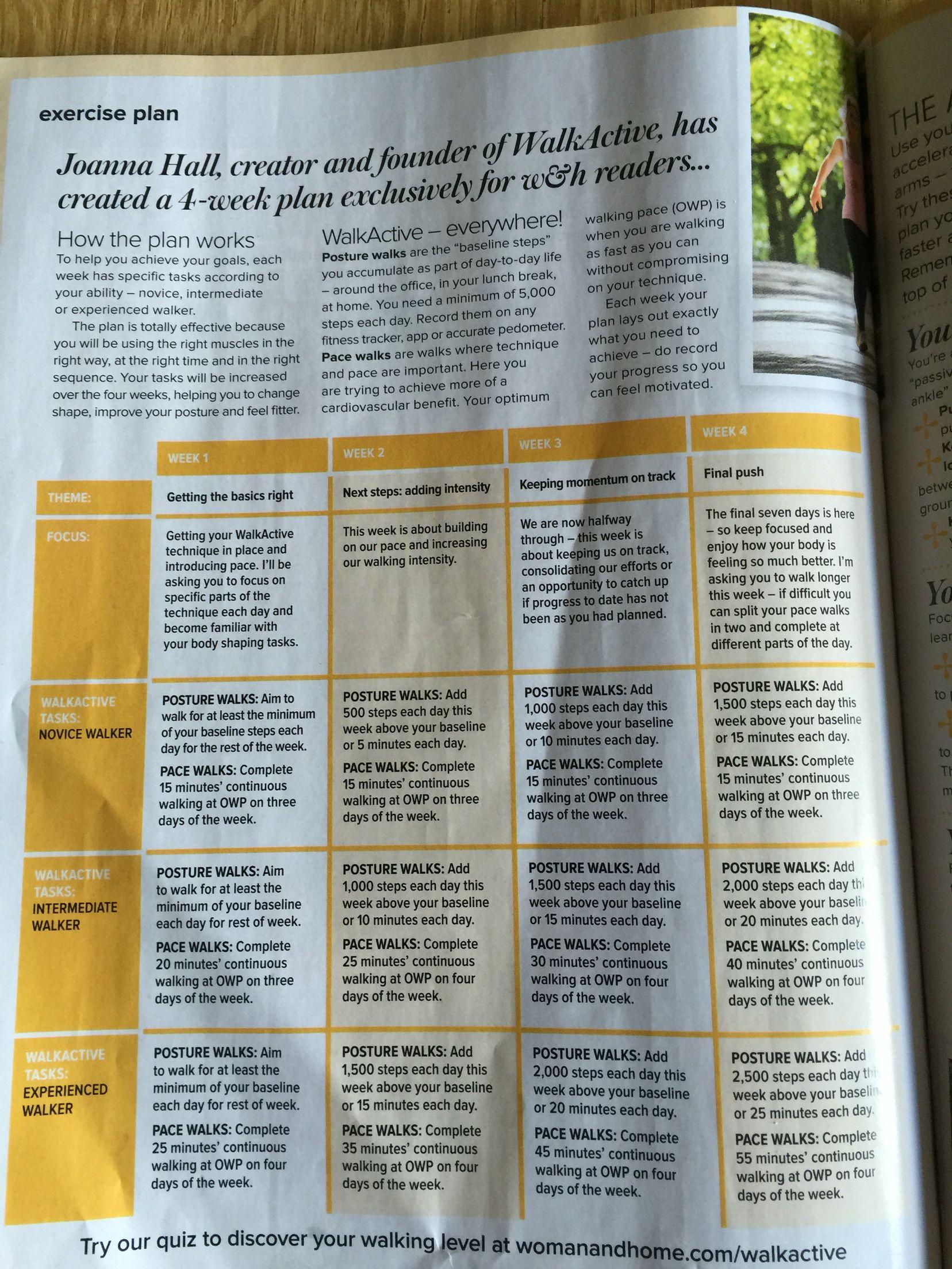 Walk Fit 3 | Walking exercise Walking plan Workout plan