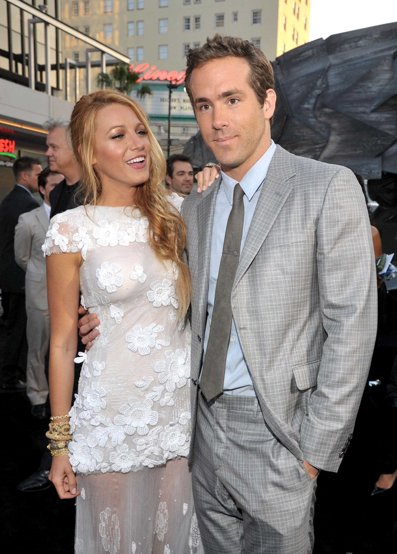 Blake Lively and Ryan Reynolds Blake lively wedding