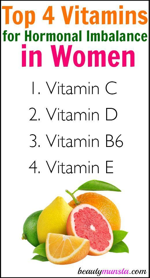 top 4 vitamins for hormonal imbalance in women natural remedies pinterest energy level pms and menopause