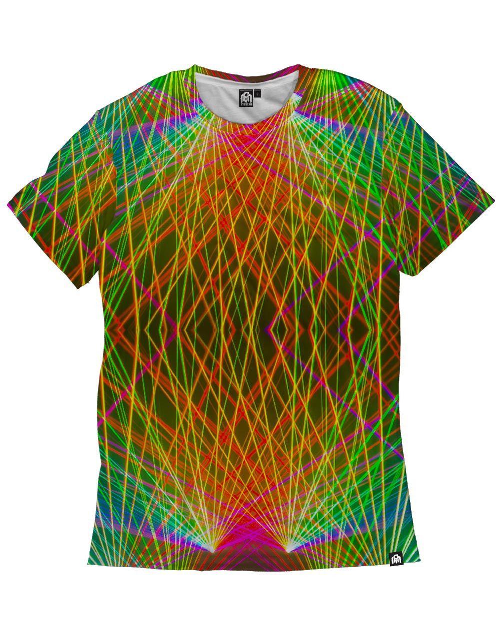 RUKES Rainbow Lasers Men's Tee