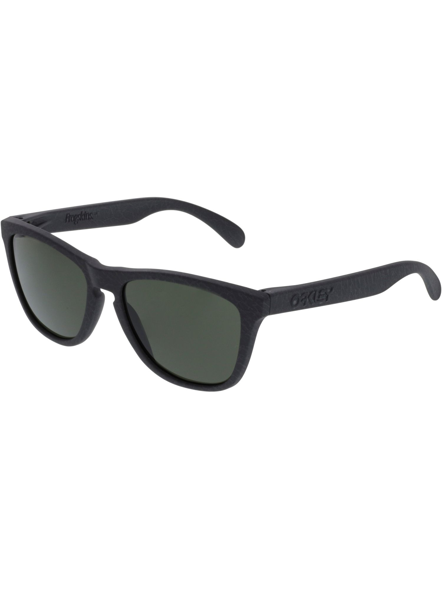 5c8693b1905fe OAKLEY OAKLEY MEN S MIRRORED FROGSKINS OO9013-75 BLACK RECTANGLE SUNGLASSES.   oakley
