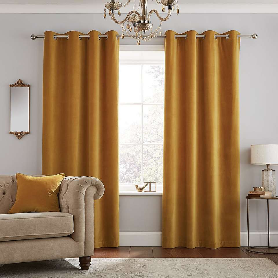 Pin On Living Room #yellow #and #grey #living #room #curtains