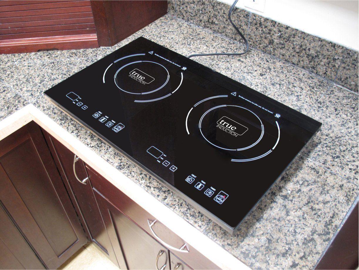Amazon Com True Induction Cooktop Double Burner Energy