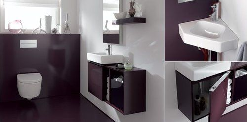 Das iCONxs trumpft mit innovativen Ideen fürs Gäste WC: Schmale ...