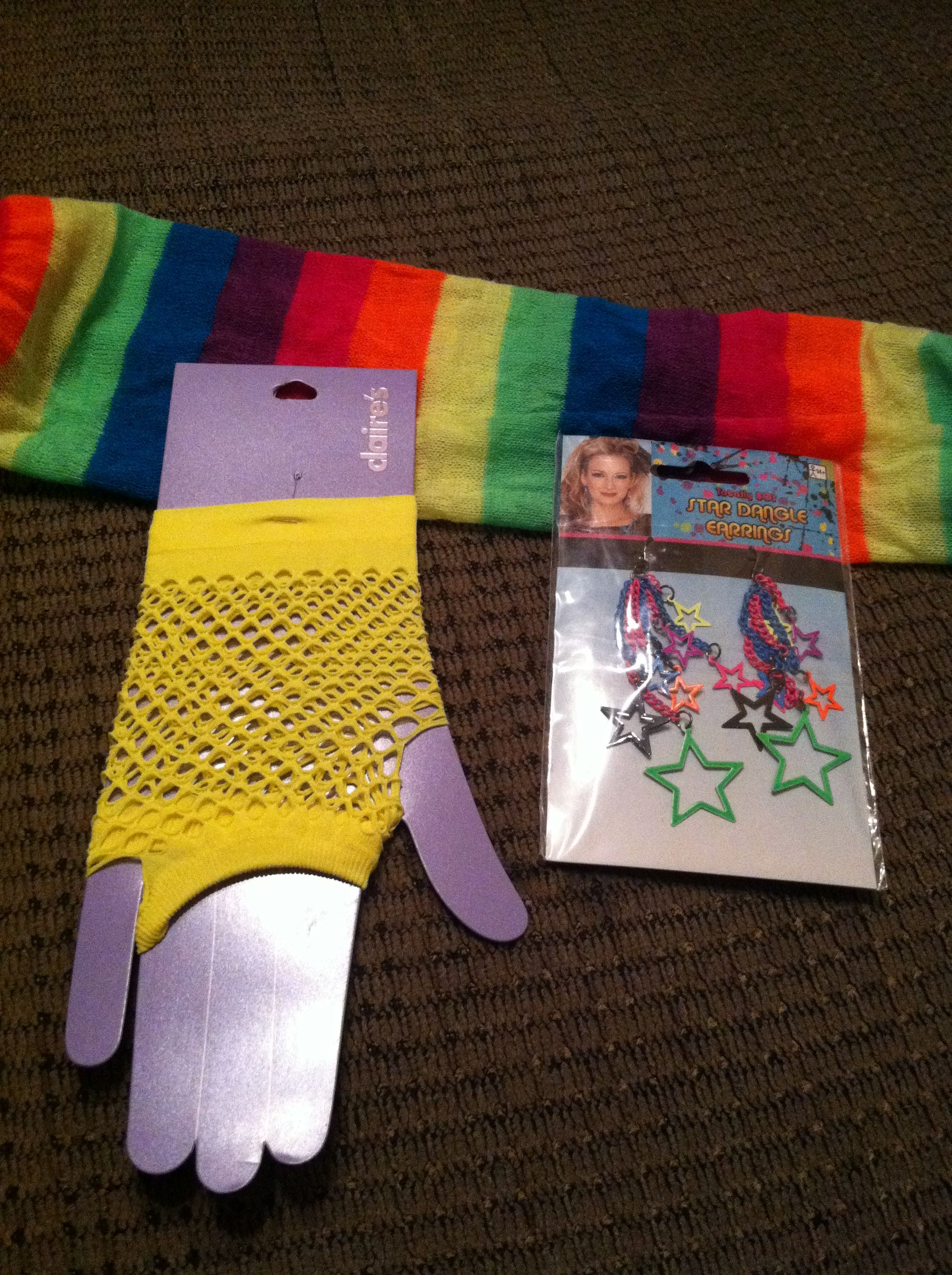 My accessories from Claires | 80s birthday parties, Tween accessories, 80th  birthday