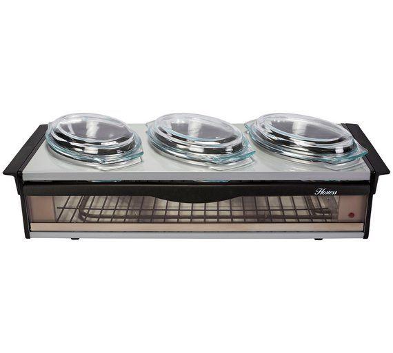 Buy Hostess H0392SV Buffet Server Silver at Argos Your