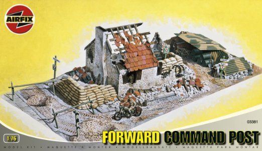Airfix A03381 Forward Command Post 1:76 Scale Series 3