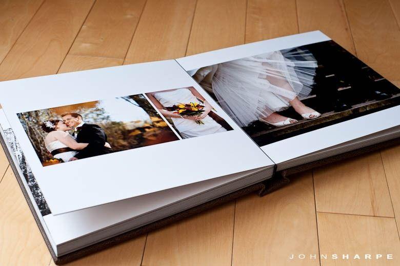 Fine Art Flushmount Wedding Album 9