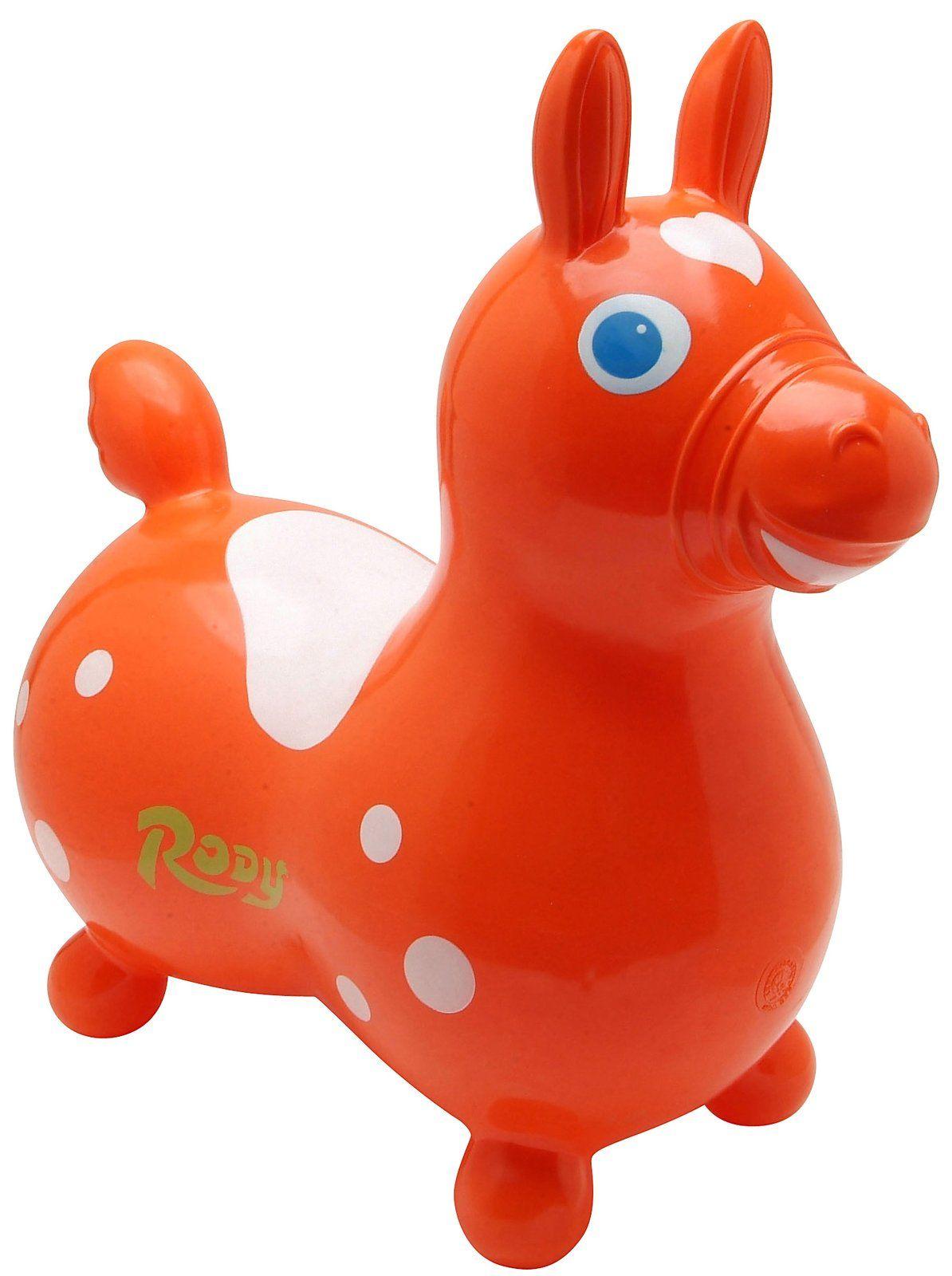 Gymnic Rody Horse Orange Rody Horse Toddler Toys Toddler Gifts