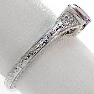 Sapphire Seville - Knox Jewelers - Minneapolis Minnesota - Sapphire Rings - Large Image