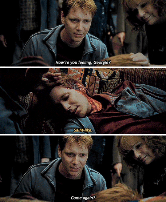 21 Heartbreaking Tv And Movie Deaths You Re Probably Still Not Over George Weasley Aesthetic Harry Potter Death Fred Weasley Death