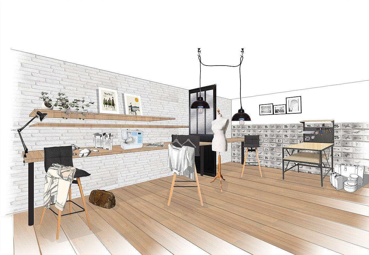 Interiora In 2019 Craft Sew Room Room Atelier Home Decor