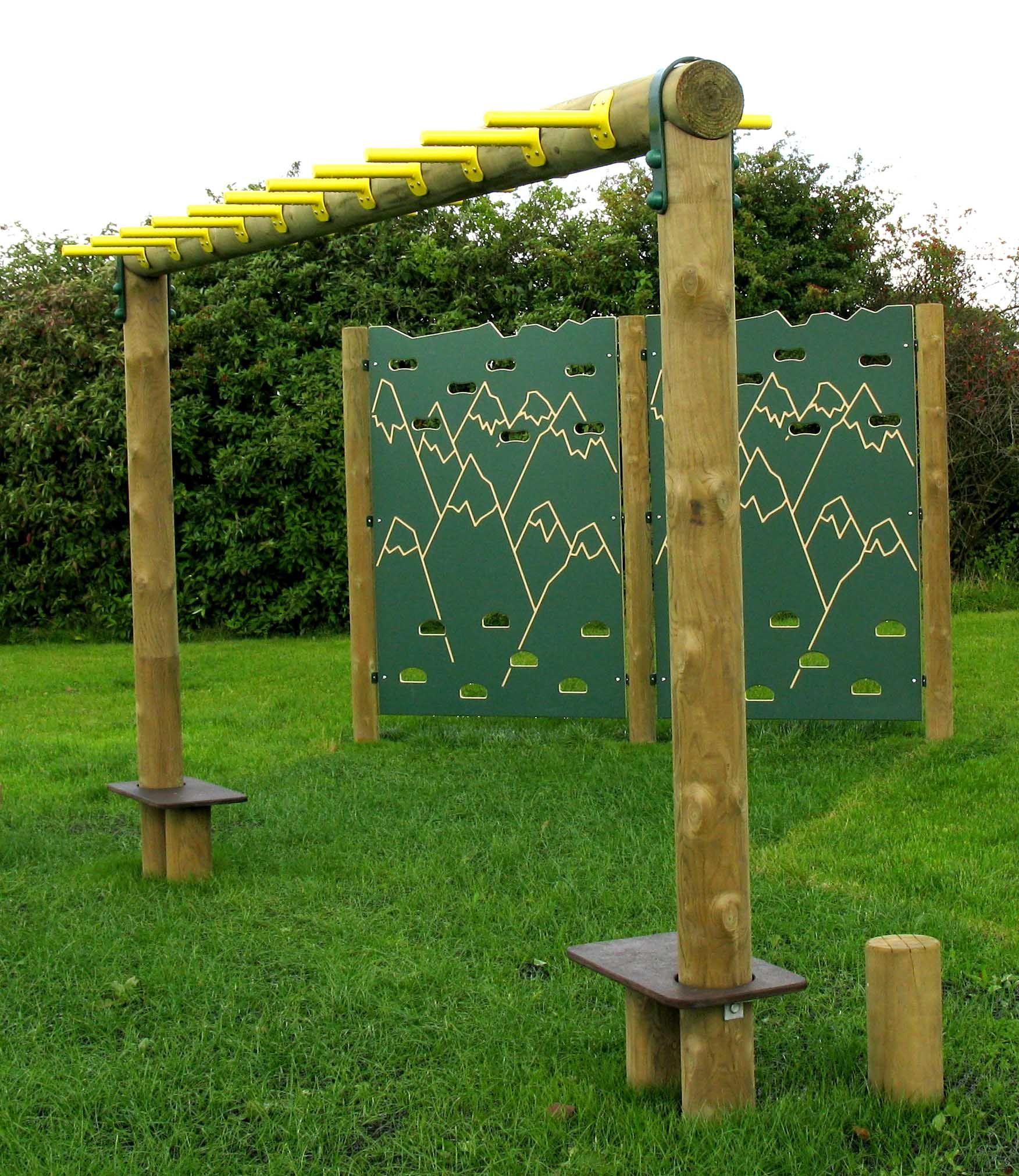 Monkey Bars Backyard Bar Backyard Design Backyard Inspiration