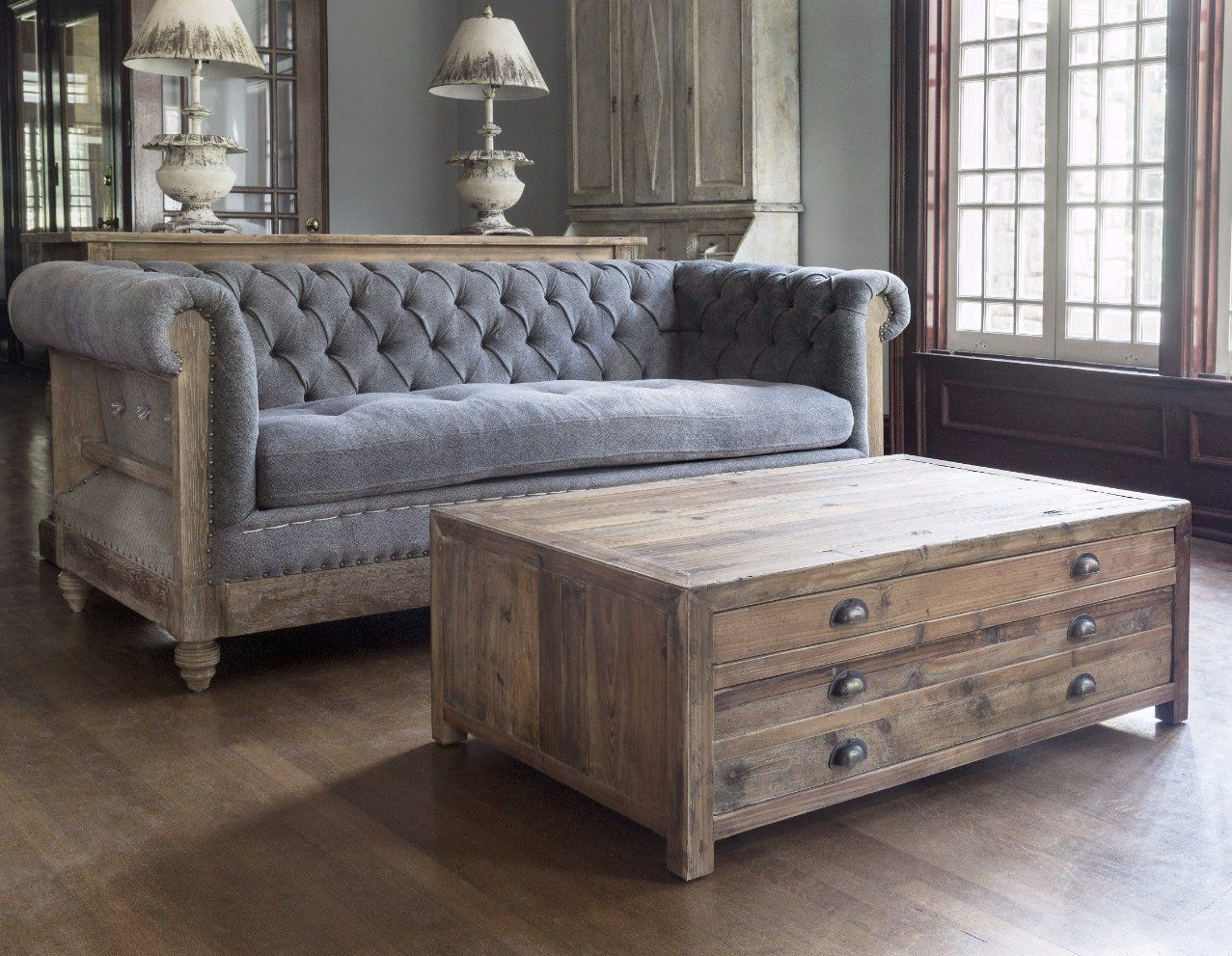 Parker House Chesterfield Sofa Chesterfield Sofa Wood