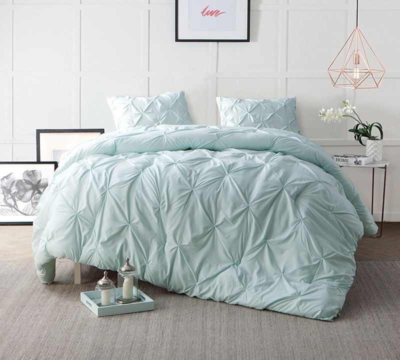 Hint Of Mint Bedding Comforter Sets In Twin Xl Bed Comforter