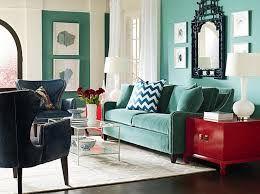 small living room blue velvet sofa - Google Search