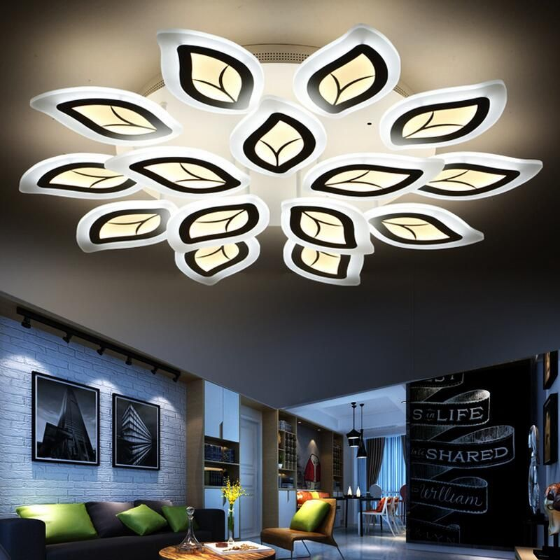 Creative Lustre Modern Led Ceiling Light Fixtures Acrylic Ultra Thin Home Lighting Decorati Ceiling Lights Modern Led Ceiling Lights Led Ceiling Light Fixtures