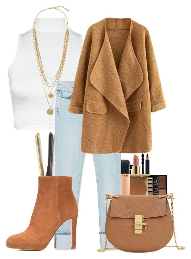 """Untitled #641"" by cheyleexox ❤ liked on Polyvore featuring T3, Givenchy, Topshop, Forever 21, Stila, MAC Cosmetics, WearAll, Vince Camuto, Zara and Sergio Rossi"
