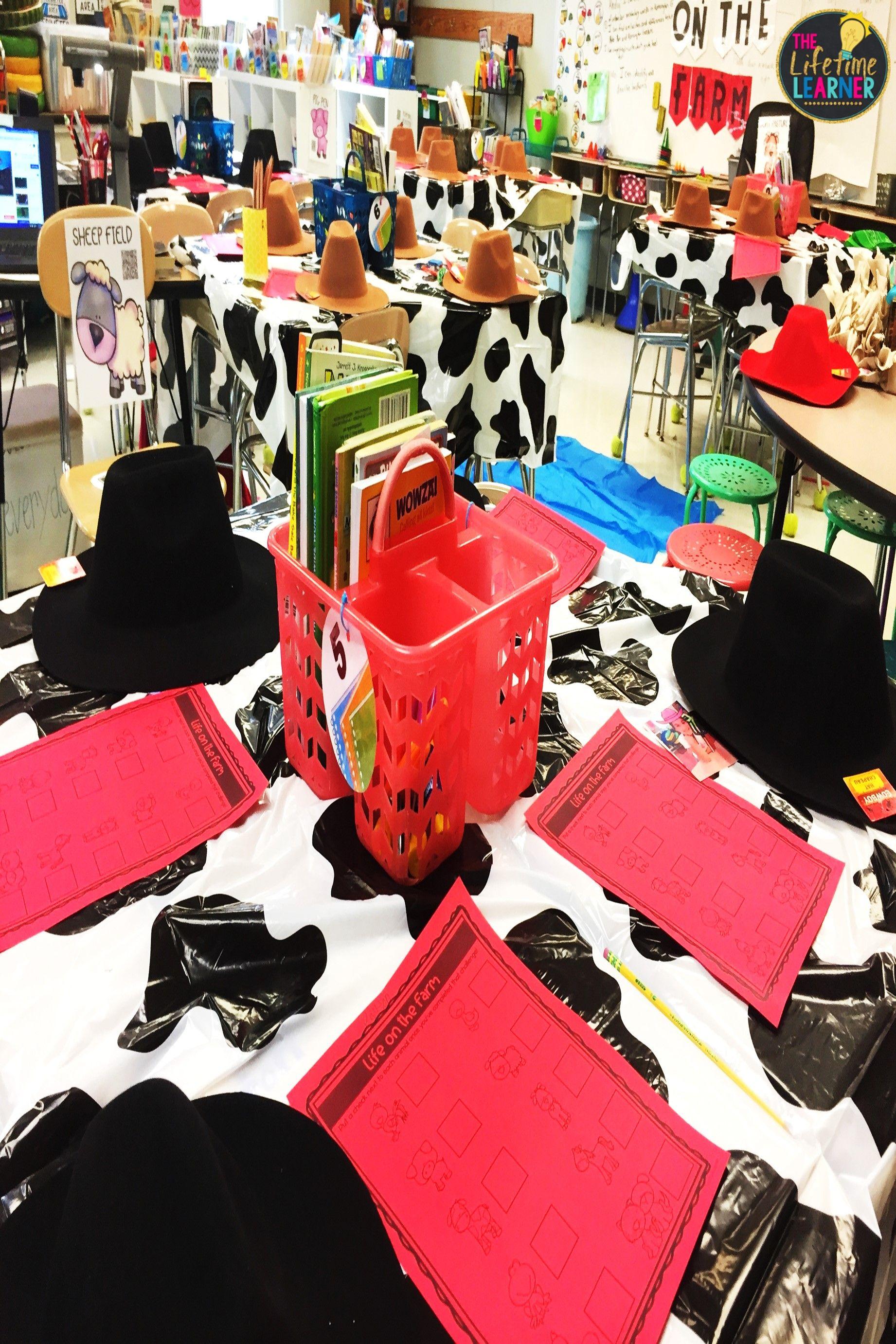 Check Out This Fun Fall Farmer Classroom Transformation