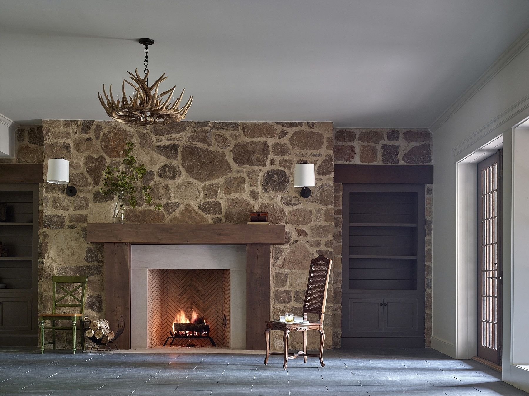 subdued elegance nature acted as muse for this inviting home