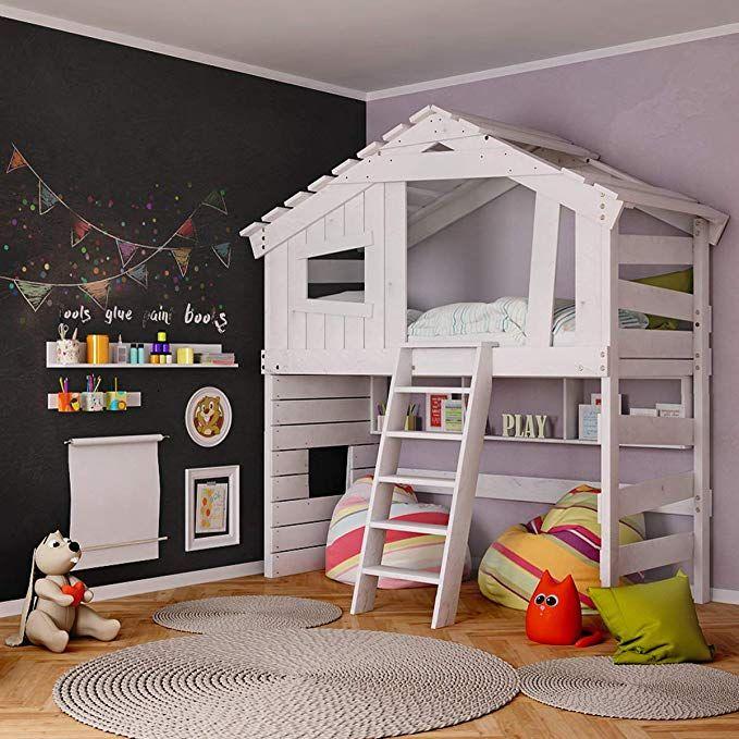 BIBEX® Hochbett Kinder/ Jugendbett Doppelbett