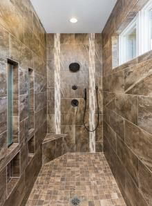 Luxury Floor to Ceiling Showers