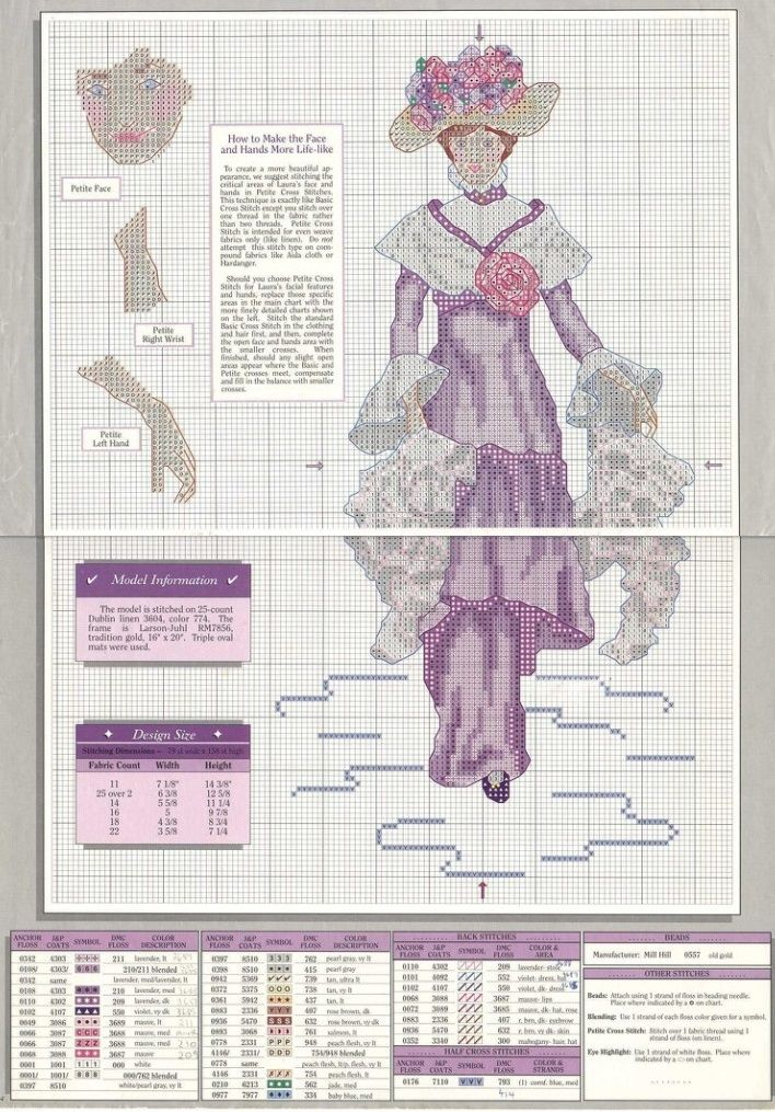 Lady Cross Stitch Pattern PDF Instant Download Paris Cross Stitch Fashion Cross Stitch Stylish Cross Stitch History Cross Stitch Counted