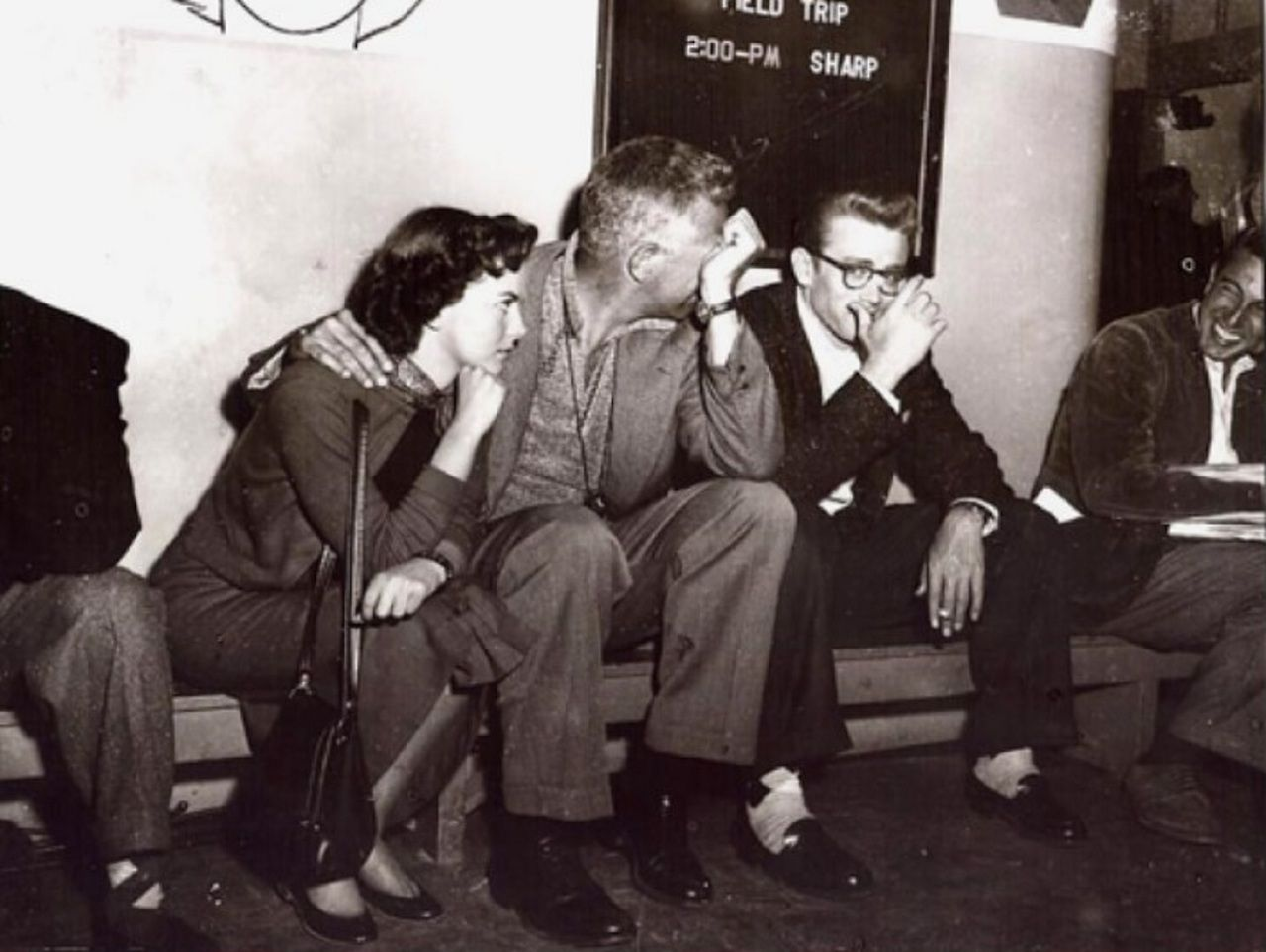 james dean natalie wood and nicholas ray on the set of rebel james dean natalie wood and nicholas ray on the set of rebel out a cause