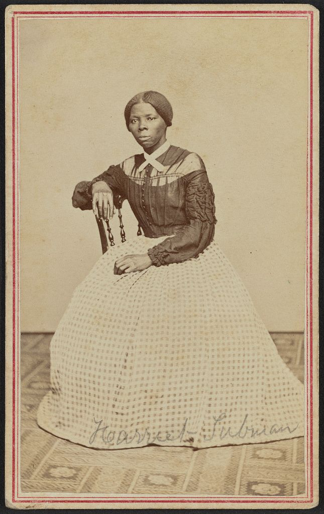 Portrait Of Harriet Tubman Powelson Photographer 77 Genesee St