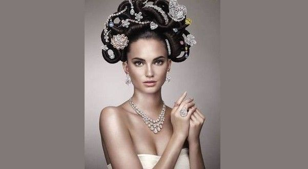 Jewels in the crown: Diamond firm unveils $500m hair piece